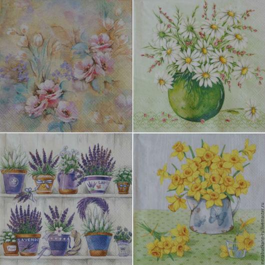 «Радужные цветы» 40 «Букет в вазе» 51 «Лаванда»1 73 «БукетНарциссов» 79