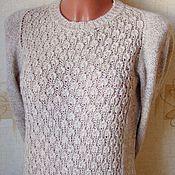 """Одежда ручной работы. Ярмарка Мастеров - ручная работа пуловер""""Нежность"""". Handmade."""