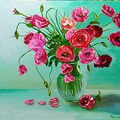 Картины и панно handmade. Livemaster - original item Paintings: still life with red poppies. Handmade.
