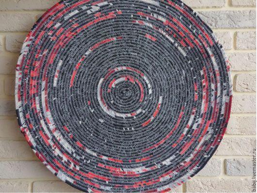 """Текстиль, ковры ручной работы. Ярмарка Мастеров - ручная работа. Купить Коврик """"Дачный"""". Handmade. Разноцветный, коврик на пол, коврики"""