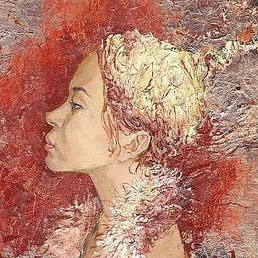 """Картины и панно ручной работы. Ярмарка Мастеров - ручная работа """"Египтянка"""". Handmade."""