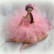 Куклы и игрушки ручной работы. Ярмарка Мастеров - ручная работа Балерина Розовое Облако  (Ballerina Pink Cloud). Handmade.