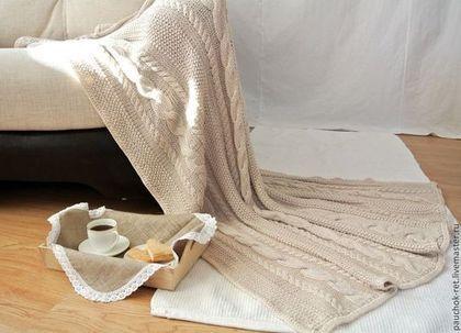 """Текстиль, ковры ручной работы. Ярмарка Мастеров - ручная работа Плед """" Романтичный вечер"""". Handmade."""