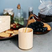 Посуда handmade. Livemaster - original item A glass to drink from natural wood of Siberian Cedar #C24. Handmade.