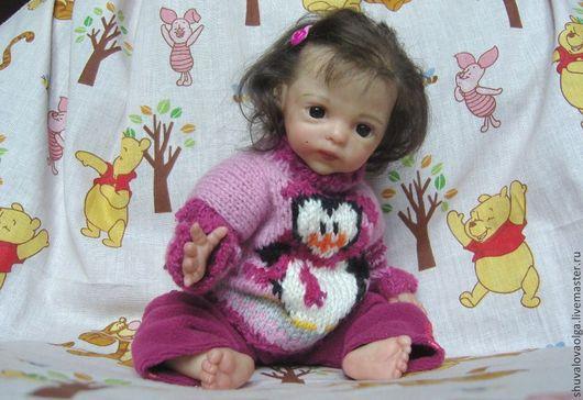 Куклы-младенцы и reborn ручной работы. Ярмарка Мастеров - ручная работа. Купить Кукла реборн - маленькая француженка Амели. Handmade.