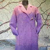 """Одежда ручной работы. Ярмарка Мастеров - ручная работа Пальто - кардиган """"Крокус"""". Handmade."""