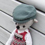 Куклы и игрушки ручной работы. Ярмарка Мастеров - ручная работа мишка Эдуард. Handmade.