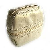 Сумки и аксессуары handmade. Livemaster - original item Road cosmetic bag faux leather. Handmade.