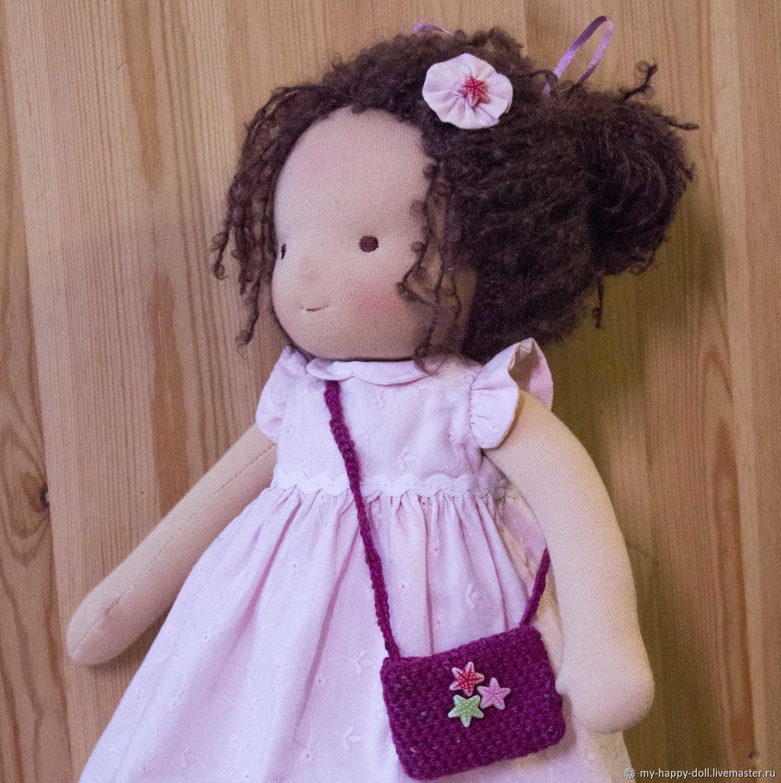 Юки. Текстильная вальдорфская кукла, Вальдорфские куклы и звери, Москва,  Фото №1