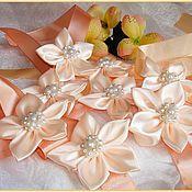 Свадебный салон ручной работы. Ярмарка Мастеров - ручная работа Браслет - повязка для подружек невесты. Handmade.