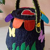 Сумки и аксессуары ручной работы. Ярмарка Мастеров - ручная работа Anechka (сумочка для девочки). Handmade.