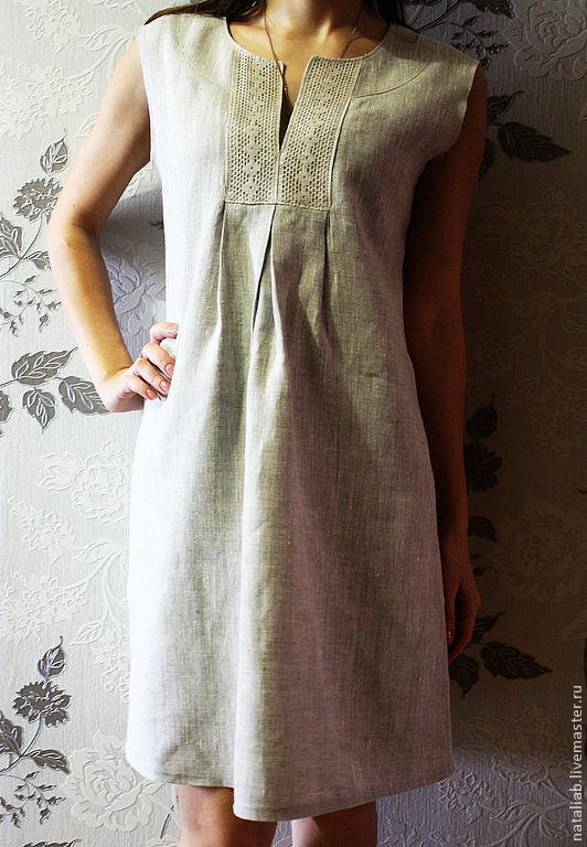 Платье из льна своим руками 72