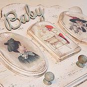 Для дома и интерьера ручной работы. Ярмарка Мастеров - ручная работа СКИДКА -20%   вешалка BABY. Handmade.