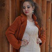 Одежда handmade. Livemaster - original item Coat the foliage of the wool handmade. Handmade.