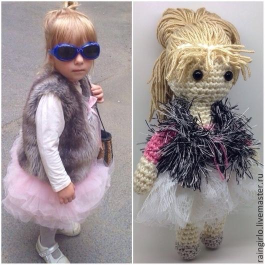 Человечки ручной работы. Ярмарка Мастеров - ручная работа. Купить Портретная куколка. Handmade. Кукла ручной работы, портретная кукла