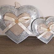 Для дома и интерьера ручной работы. Ярмарка Мастеров - ручная работа Сердечки в металле (подвески). Handmade.