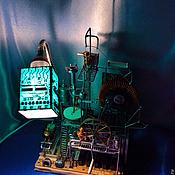 """Для дома и интерьера ручной работы. Ярмарка Мастеров - ручная работа Настольная лампа """"Мануфактура"""". Handmade."""