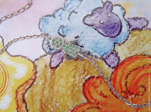 Браслеты ручной работы. Ярмарка Мастеров - ручная работа. Купить браслет для мамы детки принц нарядный. Handmade. Памятный подарок