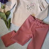 Работы для детей, handmade. Livemaster - original item Suit for girl