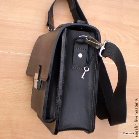 c8405d7c5063 Иваныч Мужские сумки ручной работы. Мужская кожаная сумка