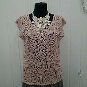 Одежда handmade. Livemaster - original item knitted blouse crochet