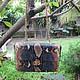 Женские сумки ручной работы. Заказать клатч Chаnel mini. Paradise Bali. Ярмарка Мастеров. Клатч ручной работы