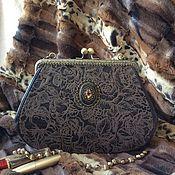 Сумки и аксессуары handmade. Livemaster - original item Leather handbag Coffee with cognac. Handmade.