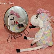 Куклы и игрушки ручной работы. Ярмарка Мастеров - ручная работа Вязаная овечка Бэлла. Handmade.