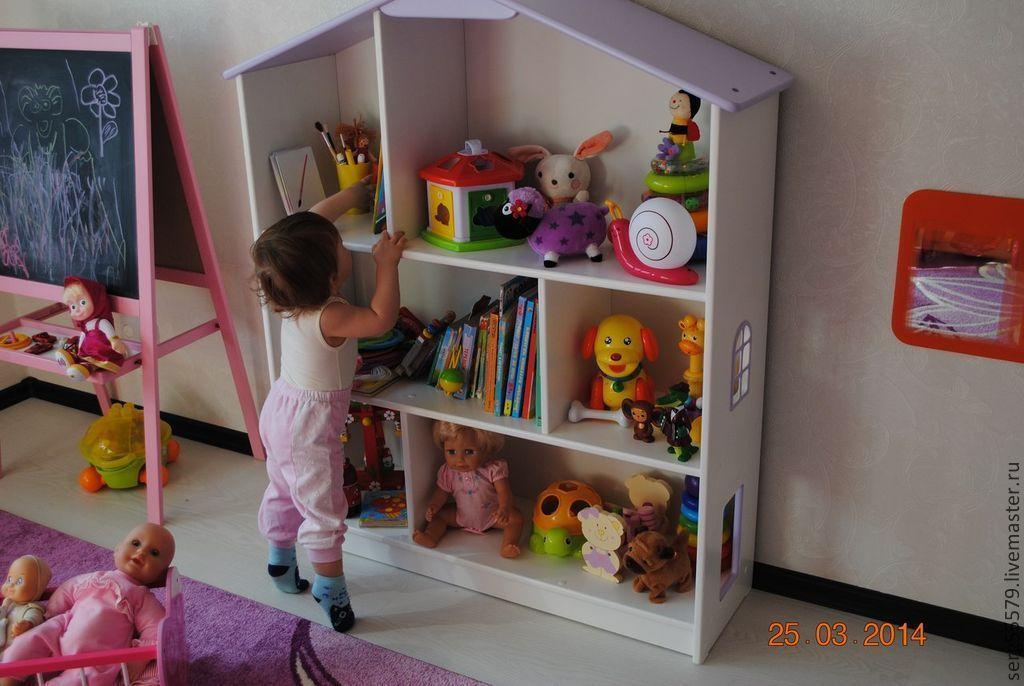 Шторы в кукольный домик