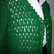 Одежда ручной работы. Ярмарка Мастеров - ручная работа Кардиган  GREEN ручной работы. Handmade.