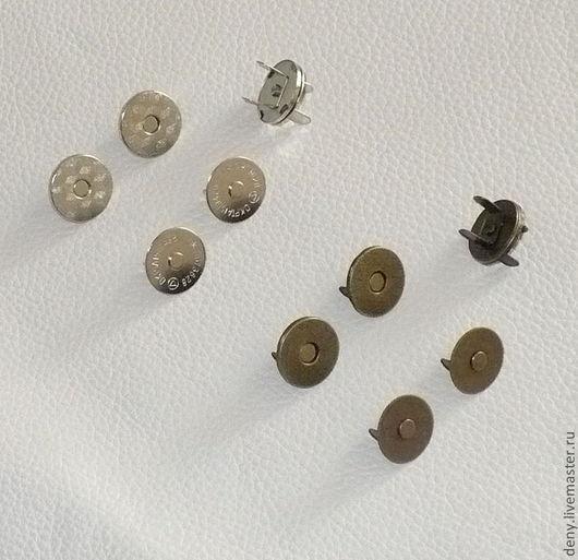 Другие виды рукоделия ручной работы. Ярмарка Мастеров - ручная работа. Купить Замок магнитный 14 и 18мм (хром, латунь). Handmade.
