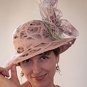 Аксессуары ручной работы. Ярмарка Мастеров - ручная работа Летние шляпки из войлока. Handmade.