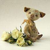 Куклы и игрушки ручной работы. Ярмарка Мастеров - ручная работа Свинка Тедди Крошка Пигги. Handmade.