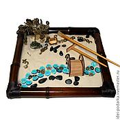Фен-шуй и эзотерика ручной работы. Ярмарка Мастеров - ручная работа Японский садик Путь к успеху. Handmade.
