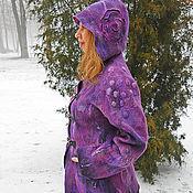 Одежда ручной работы. Ярмарка Мастеров - ручная работа Валяное полупальто. Handmade.