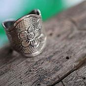 Кольца ручной работы. Ярмарка Мастеров - ручная работа 17-19 Кольцо серебряное. Handmade.