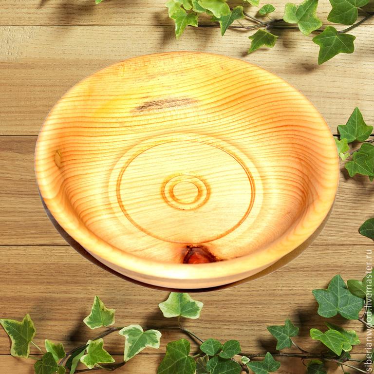 Cedar platter 14#7, Plates, Novokuznetsk,  Фото №1