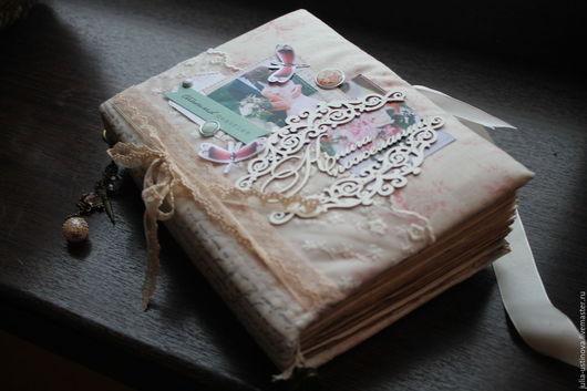 """Свадебные аксессуары ручной работы. Ярмарка Мастеров - ручная работа. Купить Свадебная книга пожеланий """"ты мое счастье """". Handmade."""