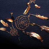 Фен-шуй и эзотерика handmade. Livemaster - original item jewelry set dream Catcher. jewelry set, dream Catcher.. Handmade.