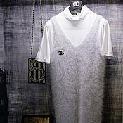 Одежда handmade. Livemaster - original item Sundress made from the wool of mink. Handmade.