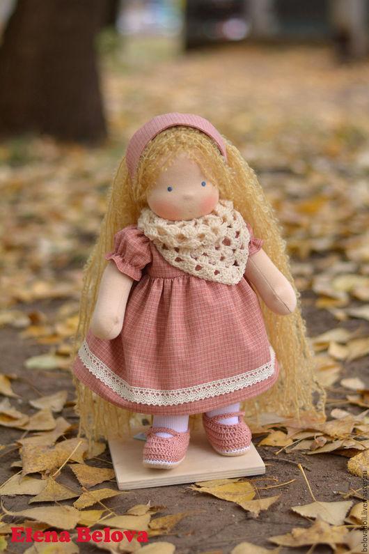 Вальдорфская игрушка ручной работы. Ярмарка Мастеров - ручная работа. Купить Вальдорфская кукла Софья, 35 см. Handmade.