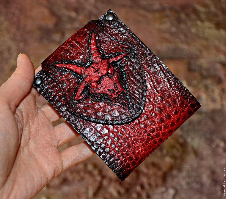 halloween wallets business card holders handmade livemaster handmade buy purse men purse wallet