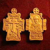 Подарки к праздникам ручной работы. Ярмарка Мастеров - ручная работа крест нательный. Handmade.