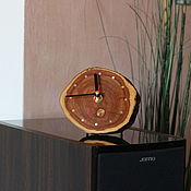 Для дома и интерьера handmade. Livemaster - original item Wall clock-desktop #1 (Apple tree). Handmade.