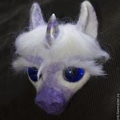 Украшения handmade. Livemaster - original item Brooch Unicorn. Handmade.