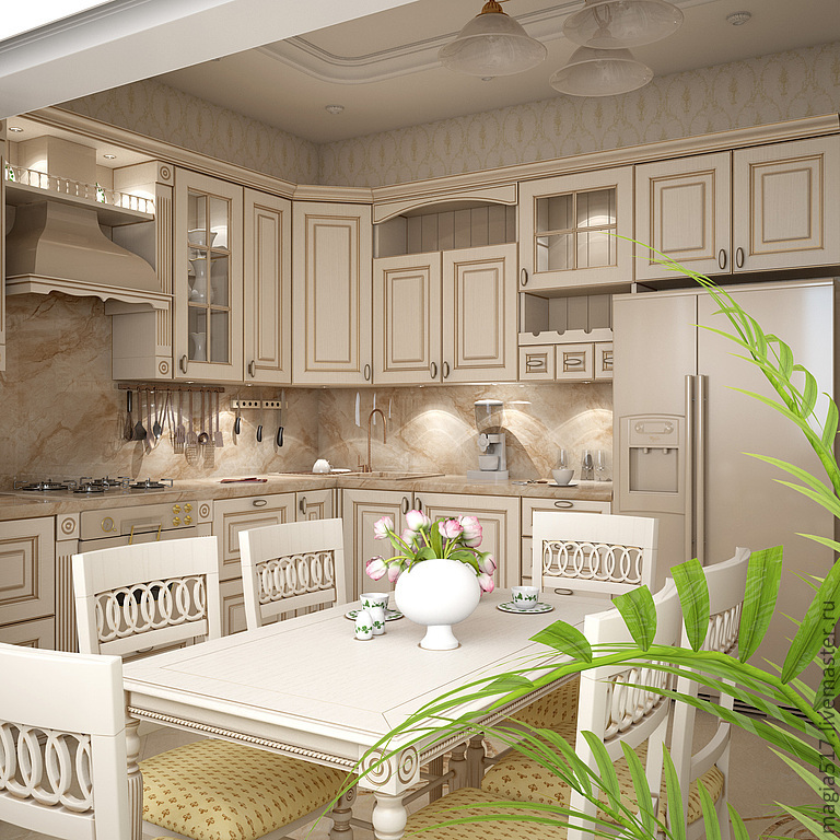 дизайн квартир фото в классическом стиле