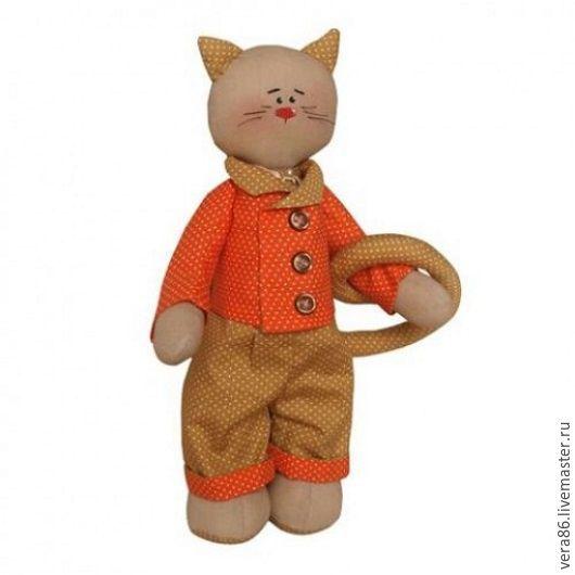 Куклы и игрушки ручной работы. Ярмарка Мастеров - ручная работа. Купить Набор для изготовления игрушки Кот. Handmade. Кот