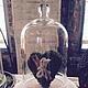 """Подарки для влюбленных ручной работы. Ярмарка Мастеров - ручная работа. Купить Интерьерная композиция """"Зеленое сердце"""". Handmade. композиция в подарок"""