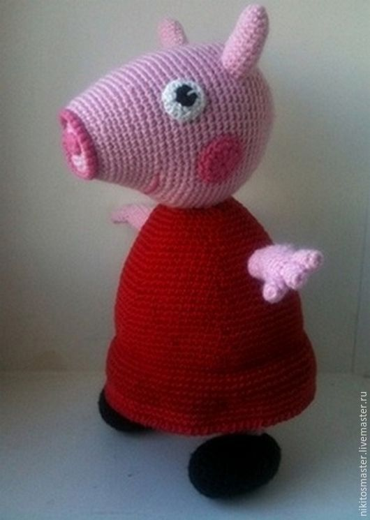 Свинка пеппа своими руками фото