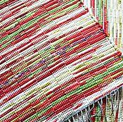 Для дома и интерьера ручной работы. Ярмарка Мастеров - ручная работа Половик ручного ткачества (№ 209). Handmade.